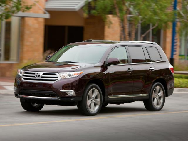 2012 Toyota Highlander Limited AWD Limited 4dr SUV