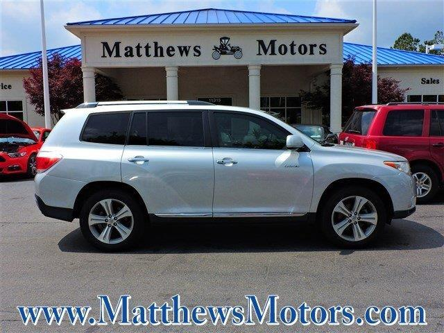2012 Toyota Highlander Limited Awd Limited 4dr Suv For