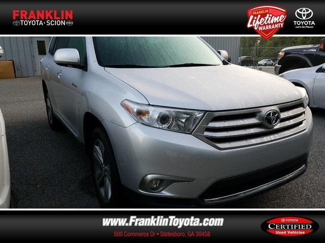 2012 toyota highlander limited limited 4dr suv for sale in statesboro georgia classified. Black Bedroom Furniture Sets. Home Design Ideas