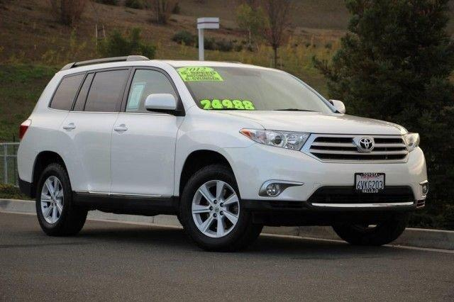 2012 toyota highlander vallejo ca for sale in vallejo california classified. Black Bedroom Furniture Sets. Home Design Ideas