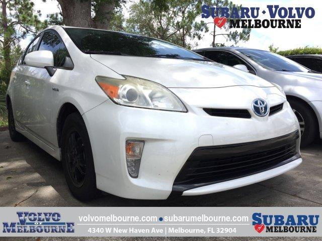 2012 Toyota Prius Two Two 4dr Hatchback