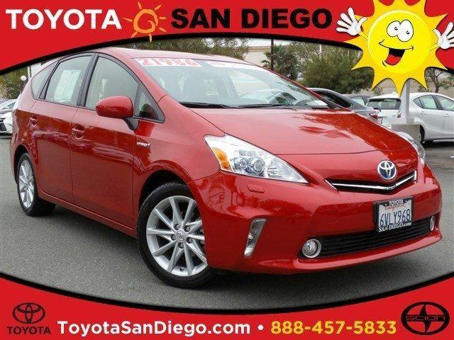 2012 toyota prius v wagon five for sale in san diego california classified. Black Bedroom Furniture Sets. Home Design Ideas