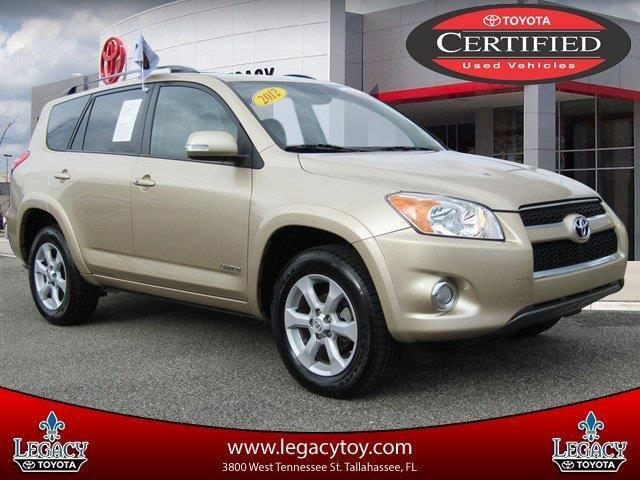 2012 Toyota RAV4 Limited Limited 4dr SUV