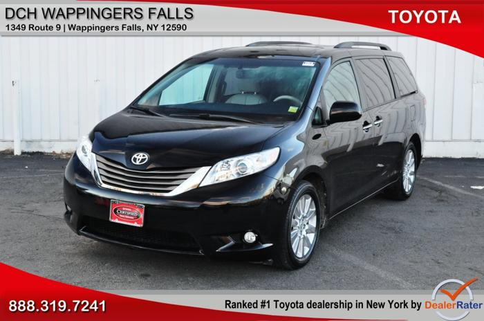 2012 toyota sienna awd limited 7 passenger 4dr mini van for sale in new hamburg new york. Black Bedroom Furniture Sets. Home Design Ideas
