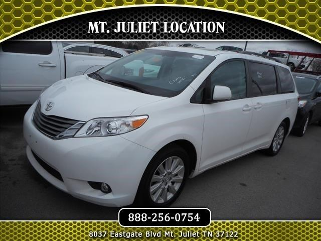 2012 toyota sienna awd limited 7 passenger 4dr mini van for sale in mount juliet tennessee. Black Bedroom Furniture Sets. Home Design Ideas