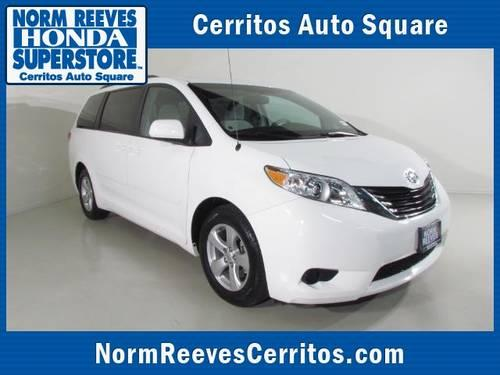 2012 toyota sienna minivan van 5dr 7 pass van v6 le fwd for sale in artesia california. Black Bedroom Furniture Sets. Home Design Ideas