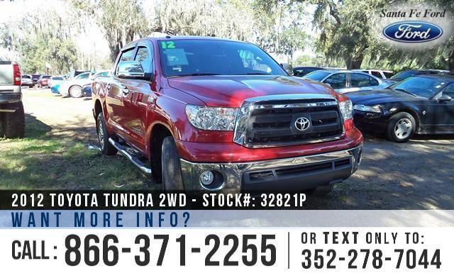 2012 Toyota Tundra 2wd Truck - Warranty - iForce