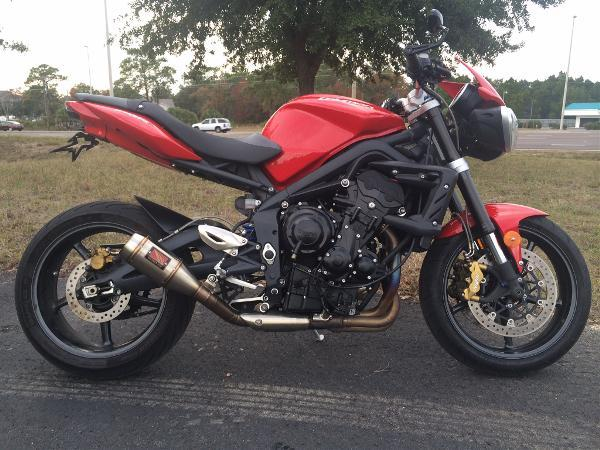 2012 Triumph Street Triple R Diablo Red For Sale In Brooksville
