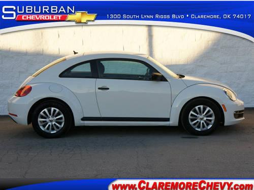2012 volkswagen beetle 3 dr hatchback pzev for sale in claremore oklahoma classified. Black Bedroom Furniture Sets. Home Design Ideas
