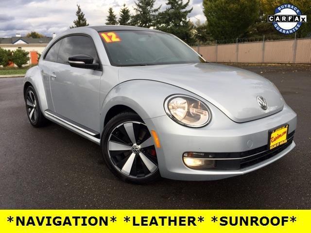 2012 volkswagen beetle turbo pzev turbo pzev 2dr hatchback 6a for sale in auburn washington. Black Bedroom Furniture Sets. Home Design Ideas