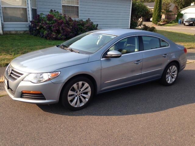 2012 volkswagen cc gray w black int for sale in tacoma washington classified. Black Bedroom Furniture Sets. Home Design Ideas