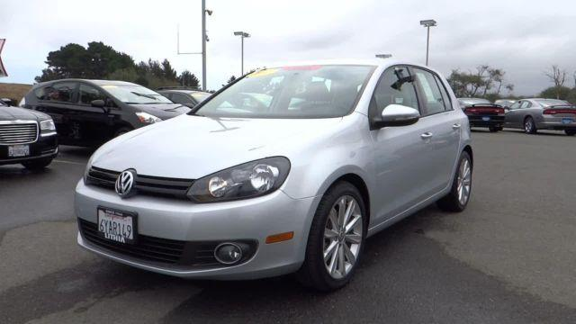2012 volkswagen golf 4dr front wheel drive hatchback tdi 4 door for sale in eureka california. Black Bedroom Furniture Sets. Home Design Ideas