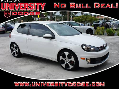 2012 volkswagen gti hatchback for sale in cooper city. Black Bedroom Furniture Sets. Home Design Ideas