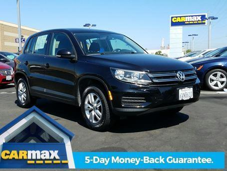 2012 Volkswagen Tiguan S S 4dr SUV 6A