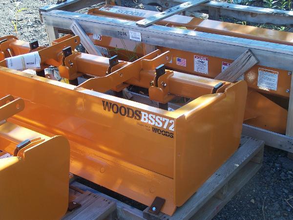 2012 Woods BSS72