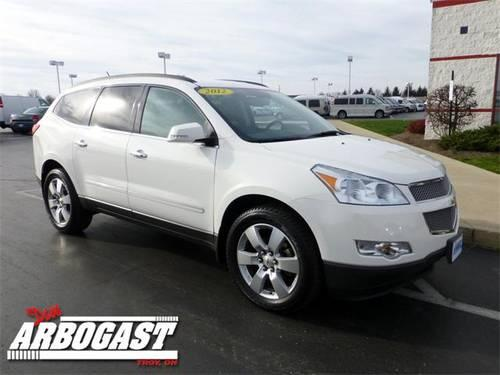 2012 chevrolet traverse suv ltz for sale in troy ohio classified. Black Bedroom Furniture Sets. Home Design Ideas