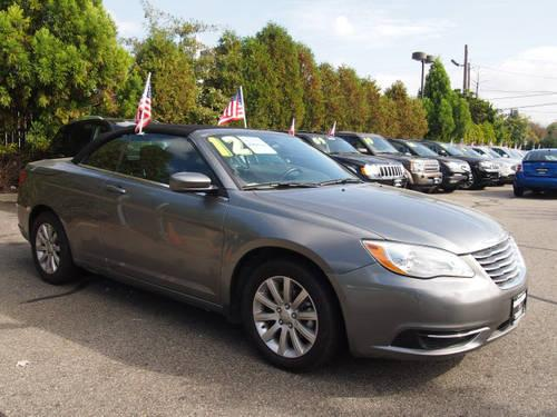 2012 chrysler 200 convertible convertible touring for sale in edison new jersey classified. Black Bedroom Furniture Sets. Home Design Ideas