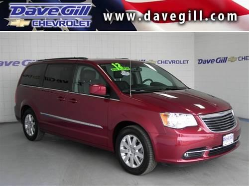 2012 chrysler town country minivan touring for sale in columbus ohio classified. Black Bedroom Furniture Sets. Home Design Ideas