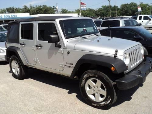 2012 jeep wrangler unlimited sport utility sport for sale in pensacola. Cars Review. Best American Auto & Cars Review