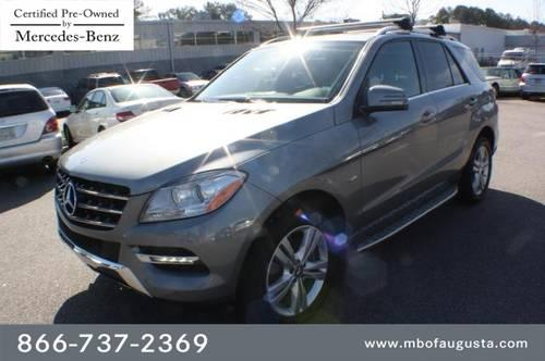 2012 mercedes benz m class suv 4matic 4dr ml350 for sale for Mercedes benz suv 2012 for sale