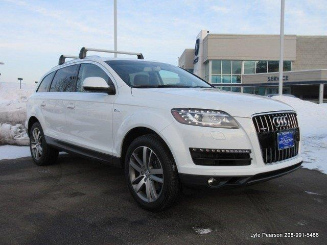 2013 audi q7 3 0t quattro premium plus awd 3 0t quattro premium plus 4dr suv for sale in boise. Black Bedroom Furniture Sets. Home Design Ideas