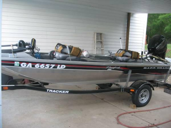 2013 bass tracker panfish 16 ft for sale in for Tracker outboard motor parts