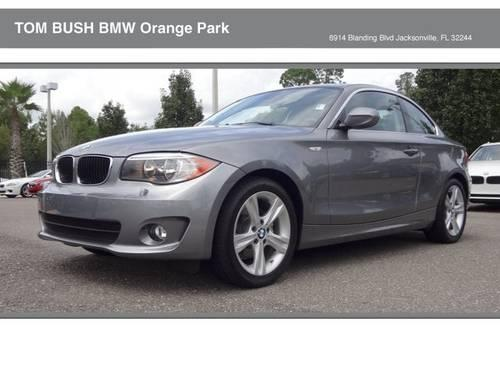 2013 Bmw 1 Series Coupe 128i For Sale In Jacksonville