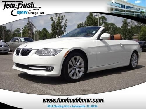 2013 BMW 3 SERIES Convertible 328I for sale in Jacksonville, Florida