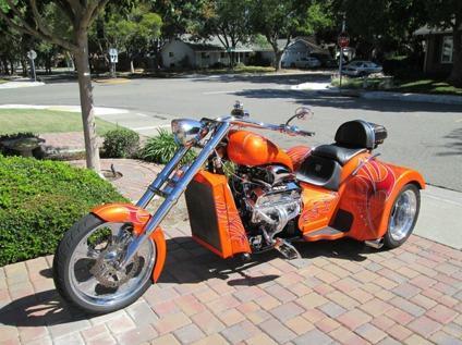 2013 Boss Hoss V8 Chopper Hot Rod Trike - Free Delivery Worldwide