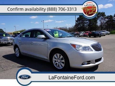 2013 buick lacrosse 4 door sedan for sale in lansing michigan classified. Black Bedroom Furniture Sets. Home Design Ideas
