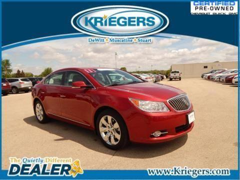 2013 buick lacrosse 4 door sedan for sale in muscatine iowa classified. Black Bedroom Furniture Sets. Home Design Ideas