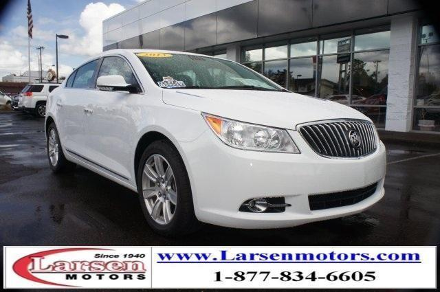 2013 buick lacrosse 4d sedan leather group for sale in mcminnville oregon classified. Black Bedroom Furniture Sets. Home Design Ideas