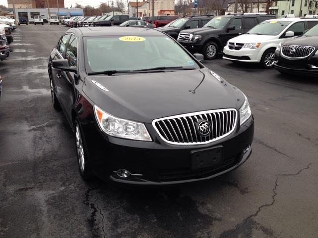 2013 Buick LaCrosse Leather AWD Leather 4dr Sedan