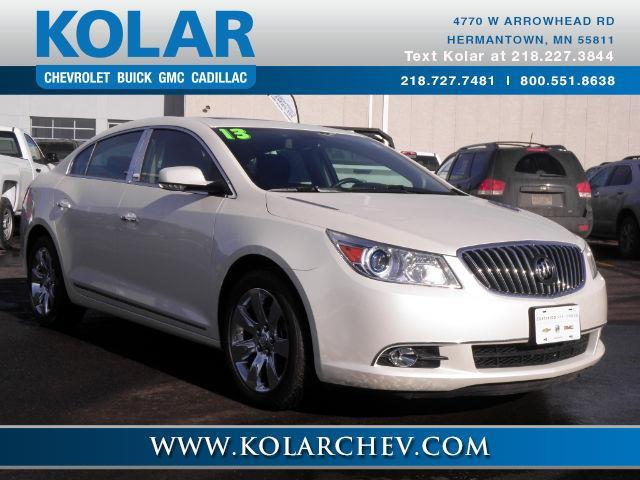 2013 buick lacrosse leather awd leather 4dr sedan for sale in duluth minnesota classified. Black Bedroom Furniture Sets. Home Design Ideas