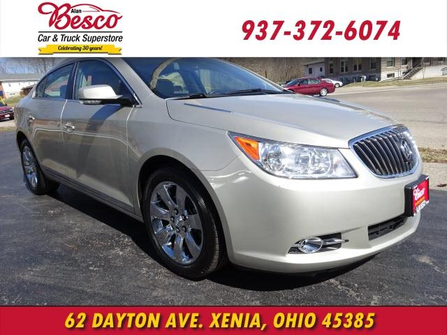 2013 buick lacrosse leather group xenia oh for sale in xenia ohio classified. Black Bedroom Furniture Sets. Home Design Ideas