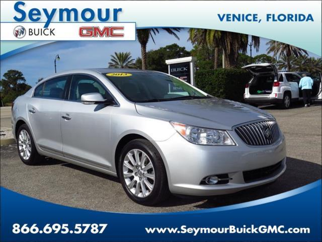 2013 buick lacrosse premium 2 premium 2 4dr sedan for sale in venice florida classified. Black Bedroom Furniture Sets. Home Design Ideas