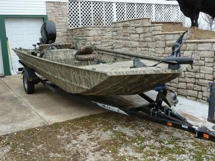 2013 cabellas lowe grasslands camo 18 39 loa fishing for Cabela s outboard motors for sale