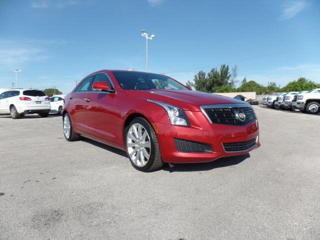 2013 Cadillac ATS 2.0T Luxury 2.0T Luxury 4dr Sedan