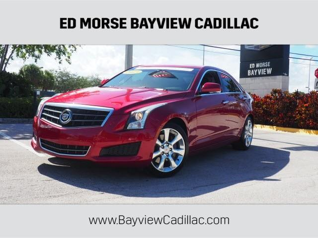 2013 Cadillac ATS 2.5L Luxury 2.5L Luxury 4dr Sedan