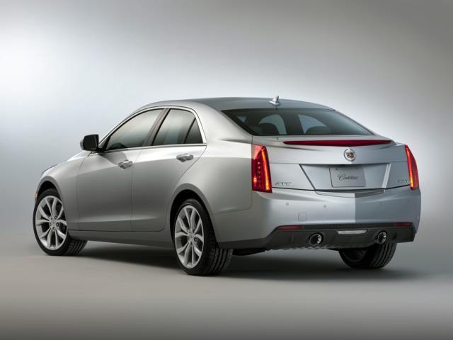 2013 Cadillac ATS 3.6L Premium AWD 3.6L Premium 4dr