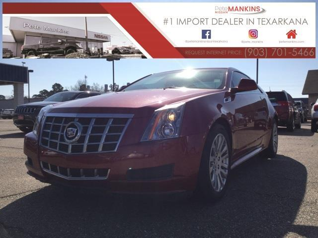 2013 Cadillac CTS 3.6L 3.6L 2dr Coupe