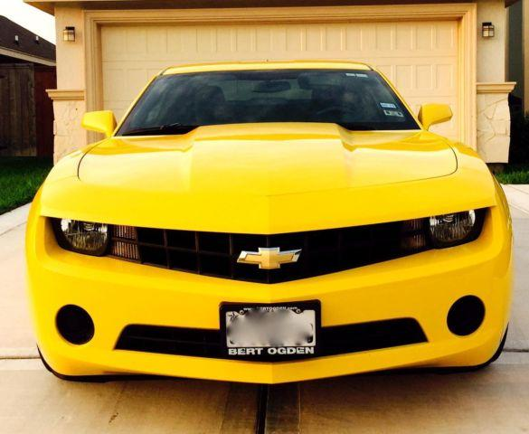 2013 camaro rally yellow ls for sale in mcallen texas. Black Bedroom Furniture Sets. Home Design Ideas