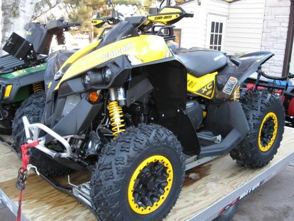 2013 Can-am renegade 1000 xxc - $11000