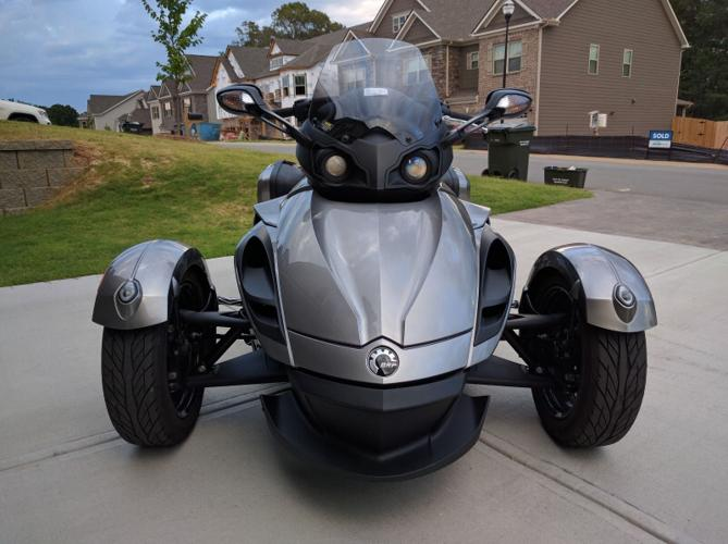 2013 Can-Am Spyder RS motorcycle