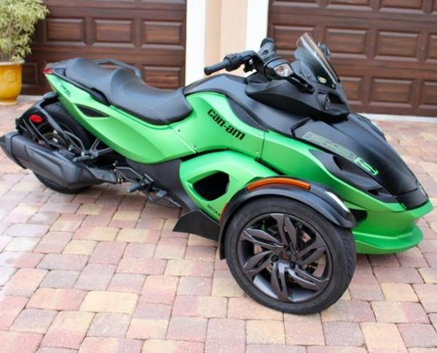 2013 Can-am Spyder RS-SE5