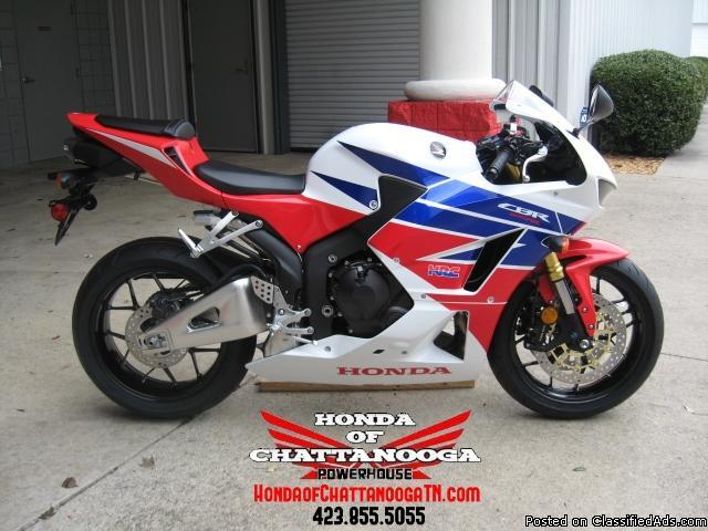 2013 cbr600rr hrc sale at honda of chattanooga tn for Honda motorcycle dealers in tennessee