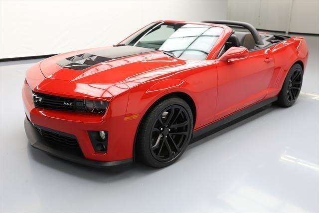2013 Chevrolet Camaro Zl1 Zl1 2dr Convertible For Sale In