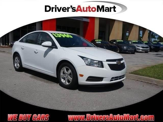 2013 chevrolet cruze 1lt for sale in cooper city florida. Black Bedroom Furniture Sets. Home Design Ideas