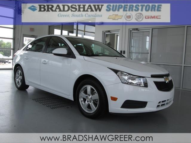 2013 chevrolet cruze 4d sedan 1lt for sale in greer south. Black Bedroom Furniture Sets. Home Design Ideas