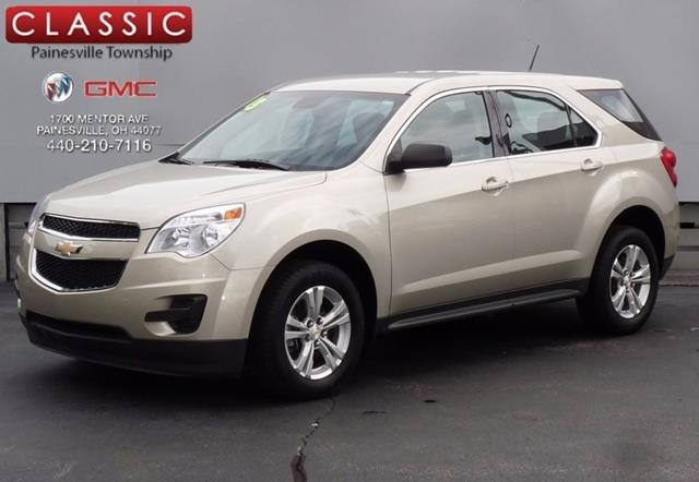 2013 chevrolet equinox ls ls 4dr suv for sale in concord ohio classified. Black Bedroom Furniture Sets. Home Design Ideas